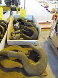 LOT: (8) Hoist Hooks