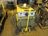 Miller 300 Amp Portable Arc Welder Model SRH333, with Cables & Clamps
