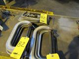 LOT: (9) Assorted 7 in. & 8 in. C-Clamps
