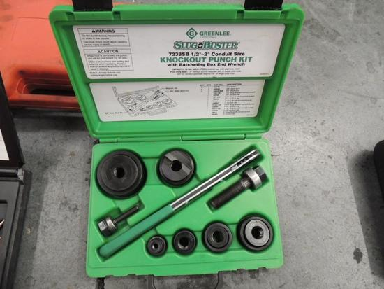Greenlee Slug Buster Knockout Punch Set .5 in. To 2 in.