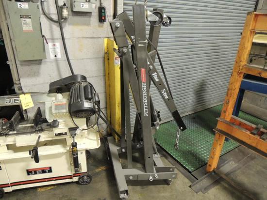 Pittsburgh Hydraulic Picker, 2 Ton Cap.