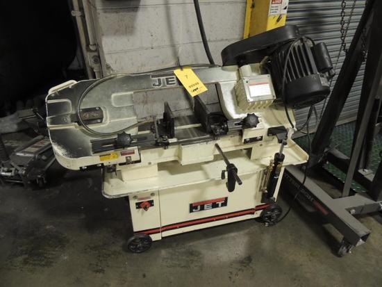 Jet Horizontal/ Vertical Band Saw Model Hbus-7mw, .75 HP 120 Volt