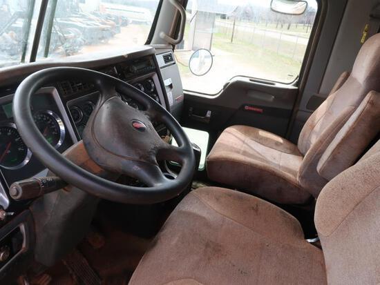 2013 Kenworth T80, 12.0L LG Diesel, Masport Vacuum Pump, 10-Speed Trans, VIN: 1XKDD49X1DJ344373,