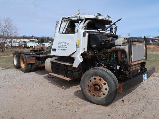 2012 Volvo Model VHD, Tandem Axle Tractor, D13 Volvo 12.8L LG Diesel, (AS IS - ROLLOVER TOTAL) VIN: