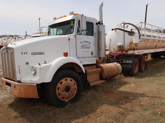1993 Kenworth Model T800, Tandem Axle Tractor, 14.0L L6 Diesel, VIN: 1XKDD69X1PS597669, 1,191,600