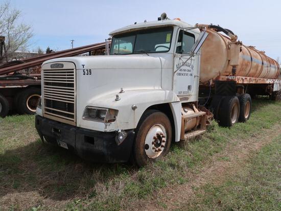1996 Freightliner Model FLD 120, Tractor, 14.OL L6 Diesel, Trailer Included, 10-Speed Trans,VIN: