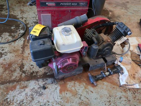 Honda Gas Air Compressor Model GX390
