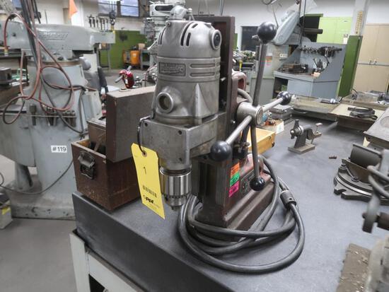 Milwaukee Magnetic Drill Model 4220, LOCATION: TOOL ROOM