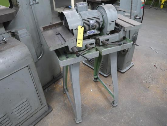 Richards Double End Tool Grinder Model 2E, with Stand, LOCATION: TOOL ROOM