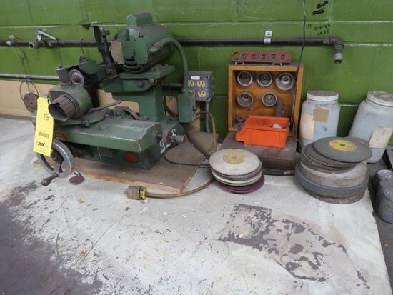 Field Router Bit Grinder (#228), LOCATION: TOOL ROOM
