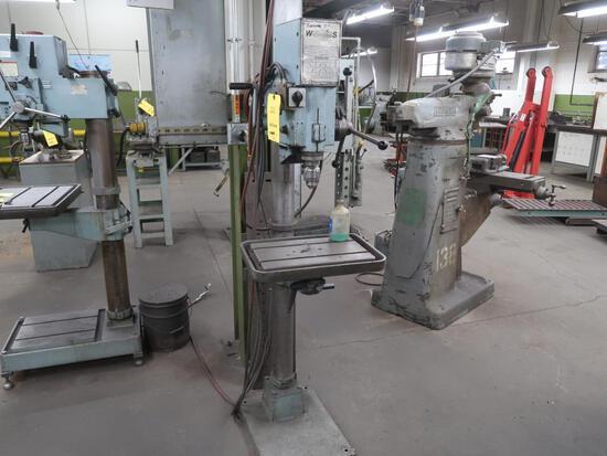 Wilton Strands 20 in. Drill Press Model 20740, 14 in. x 20 in. T-Slot Table