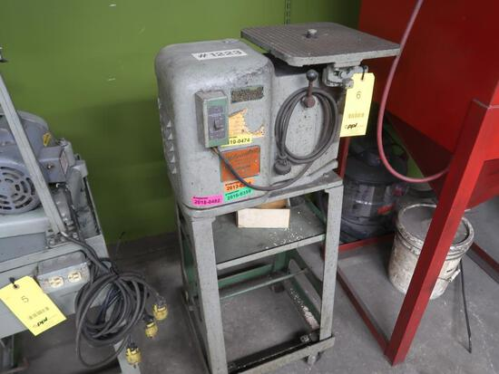 Milwaukee Profile Grinder, with Stand (1223), LOCATION: TOOL ROOM