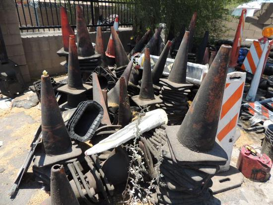 LOT: Misc. Safety Cones (Yard 3), LOCATION: 2435 S. 6th Ave., Phoenix, AZ 85003