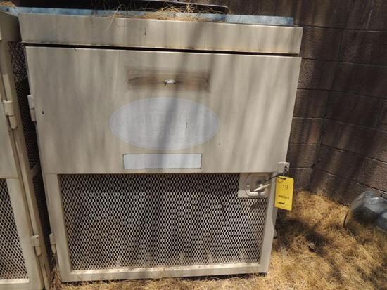 Propane Tank Lockable Storage Cage, LOCATION: 2435 S. 6th Ave., Phoenix, AZ 85003