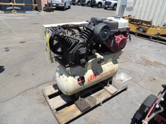 Ingersoll Rand Horizontal Air Compressor, Honda GX390 Mtd. On Pallet (Yard 1), LOCATION: 2435 S. 6th