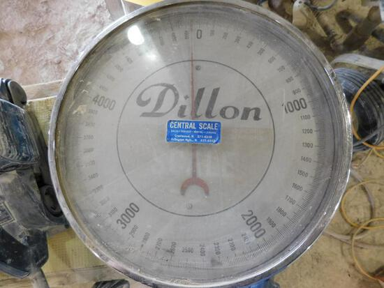 Dillon Crane Hook Scale