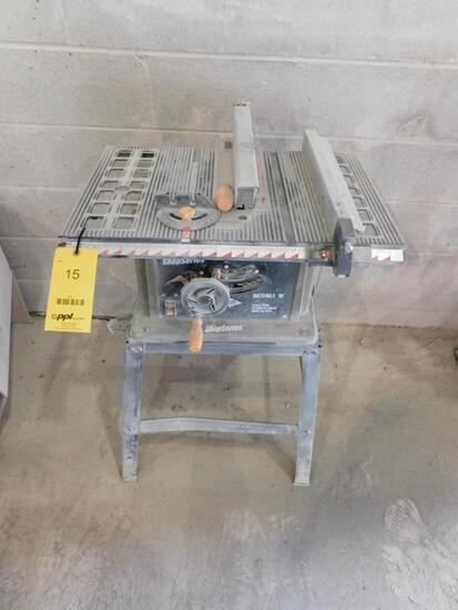 Shop Series Table Top Tilting Arbor Table Saw