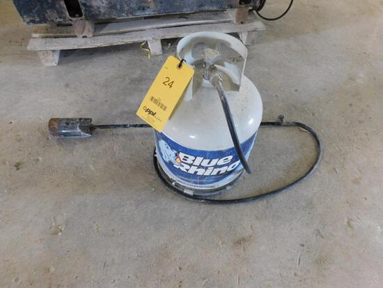 Propane Tank, with Torch