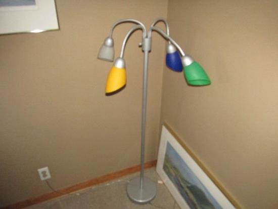 """COLORFUL FLEXABLE LAMP 54"""""""