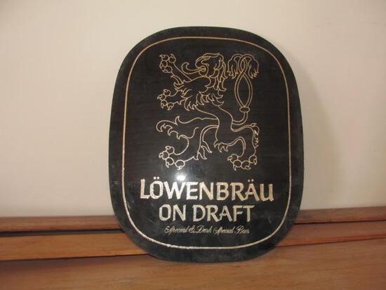 LOWENBRAU SIGN 12''