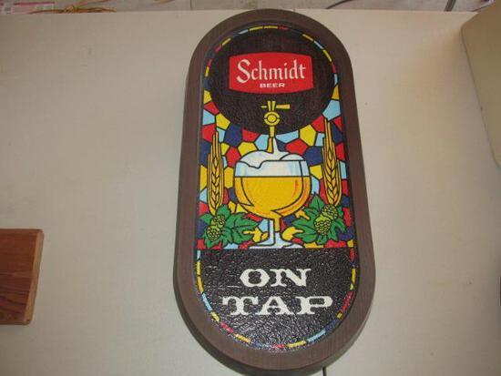 SCHMIDT BEER SIGN 22''