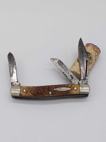 Sears USA 95234 3 Blade Knife