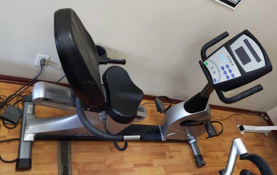 True Recumbent Exercise Bike
