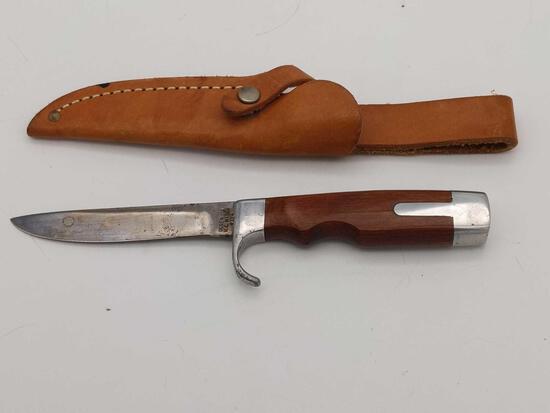Olsen OK H.C. MI USA #704 Hunting Skinning Knife w/Sheath