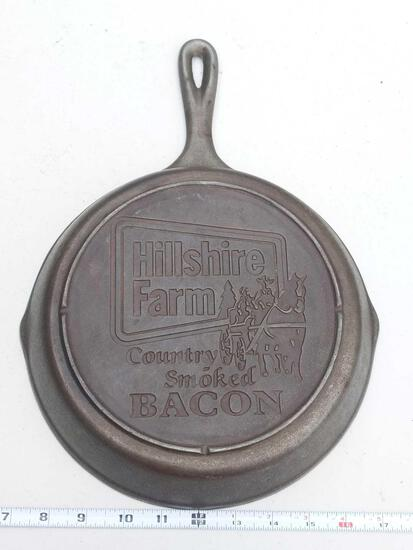 "Hillshire Farm Country Smoked Bacon 10"" Skillet - Cast Iron Skillet"