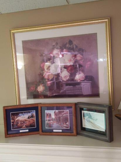 """Picture Lot (4) large 54""""x29"""""""