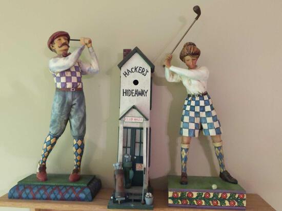 Jim Shore Golfers & Hacker's Hideaway