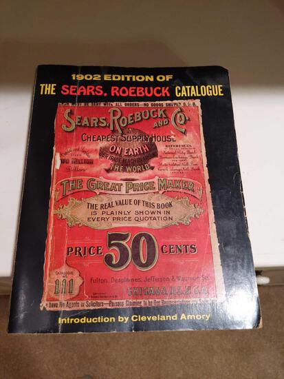 1902 Edition of the Sears & Roebuck Catalogue