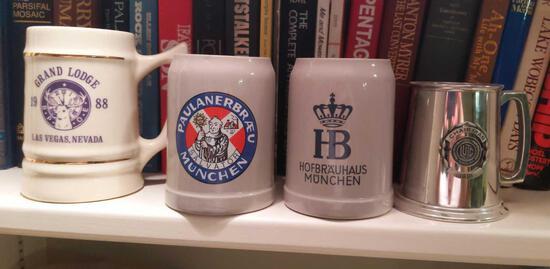 Mug Lot - German, Elks & LYTC