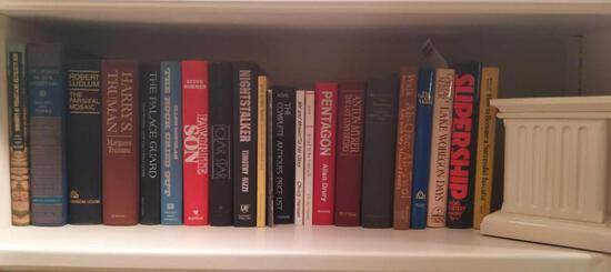 Book Ends & Book Lot Including Lake Wobegon Days& Pentagon