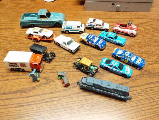 Hubley, Matchbox, Hot Wheels & Others Vehicle Lot