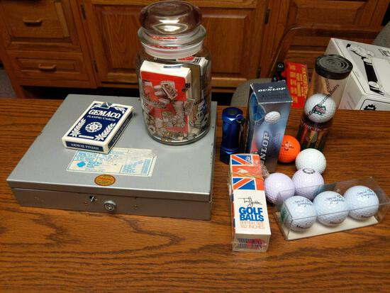Money Box Cards & Golf Balls