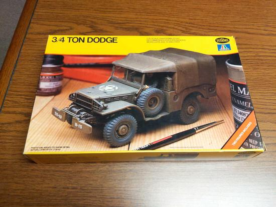 3/4 Ton Dodge Army Truck Model
