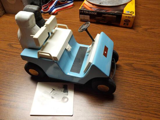 Beam's Golf Car Decanter