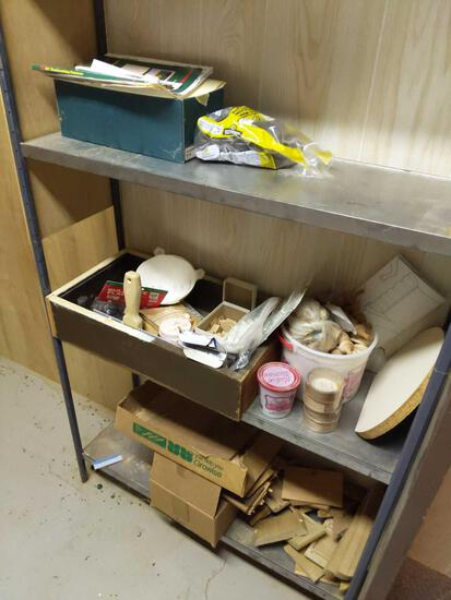 Miscellaneous Wood Lot Contents - All 3 Pictures  In Basement