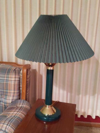 Green 3 Way Lamp