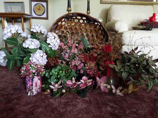 Decorative Flower Lot