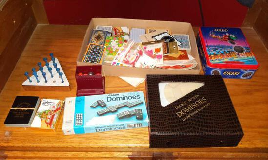 Domino's, Cards & Dice