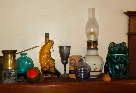 Contents on top of Cabinet 5
