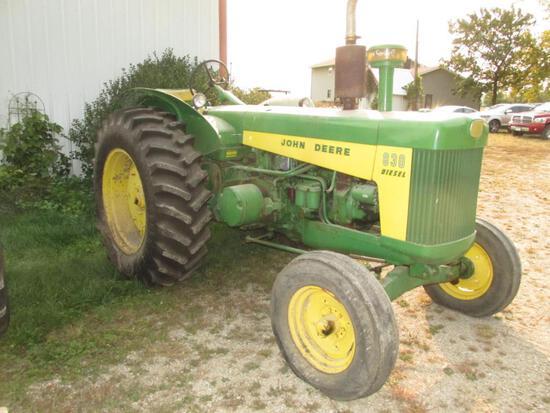 John Deere 830 Diesel, WF, 1258 hrs