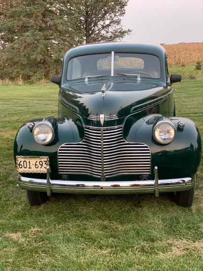 1940 Chevrolet Master Deluxe, 2 Door, Original. Includes recromed bumbers 69779 miles