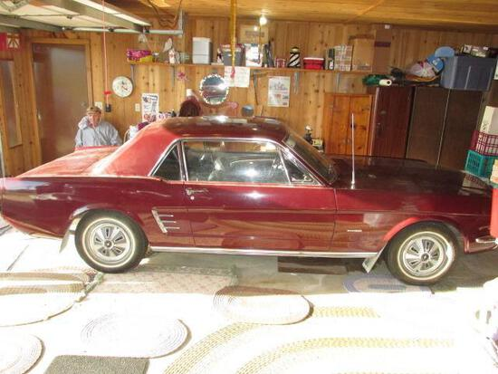 1966 Ford Mustang - 2nd Owner - VIN# 6R07T206690
