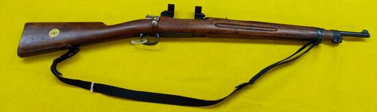 1895 Chilean Mauser 7x57 mm Carbine with See Through Scope Mount. SN-CF6227