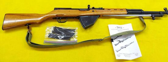 Chinese SKS Rifle with Bayonet 762X39 Caliber Model 56 SN-9112812 All Matching