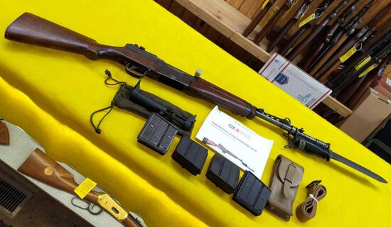 MAS 49/56 - 308 Caliber, French Foreign Legion, 1949 Rifle with Grenade Laucher Attached &