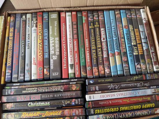 DVD Lot Various Titles Soap, Jack Benny, Lassie
